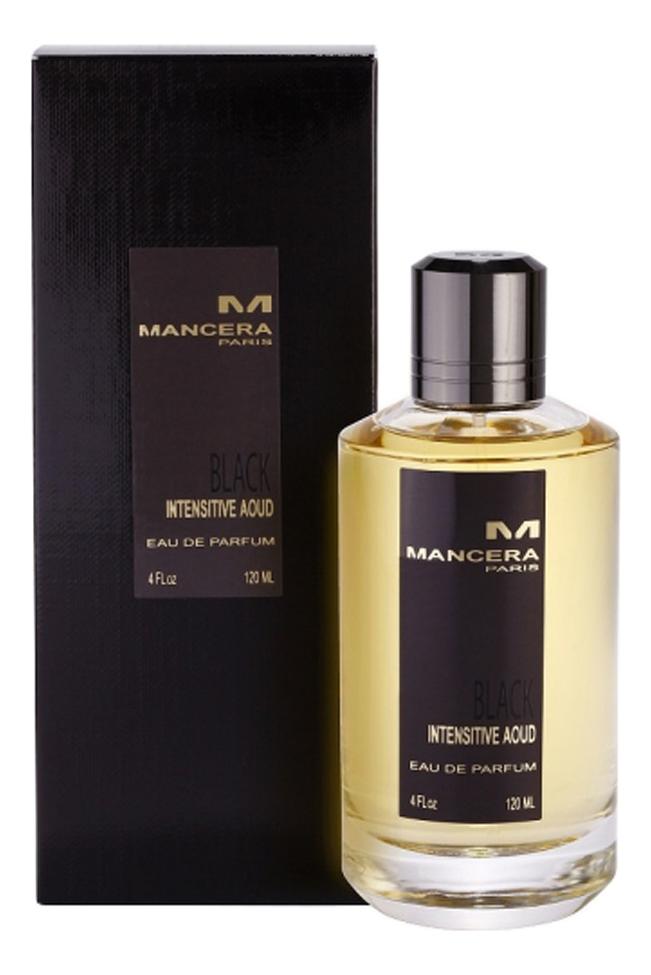 Mancera Intensitive Aoud Black: парфюмерная вода 120мл mancera intensitive aoud gold парфюмерная вода 8мл