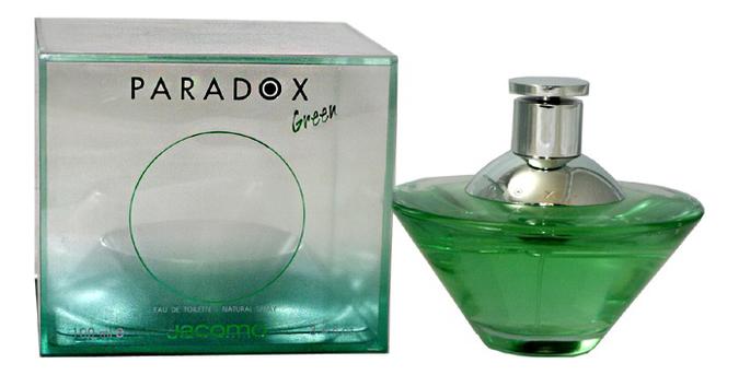 Jacomo Paradox Green Women: туалетная вода 100мл