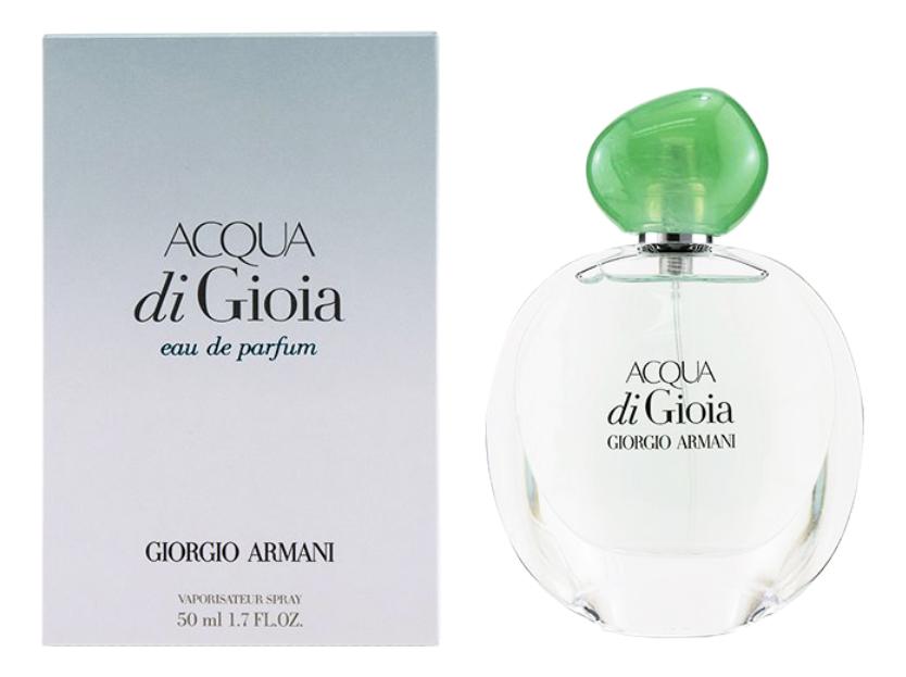 Acqua di Gioia: парфюмерная вода 50мл acqua di gioia eau de toilette туалетная вода 50мл