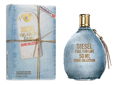 Diesel Fuel for Life Denim Collection Femme: туалетная вода 50мл