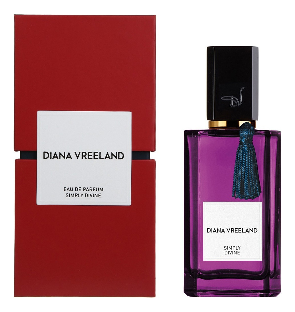 Diana Vreeland Simply Divine : парфюмерная вода 100мл diana vreeland simply divine туалетные духи 50 мл