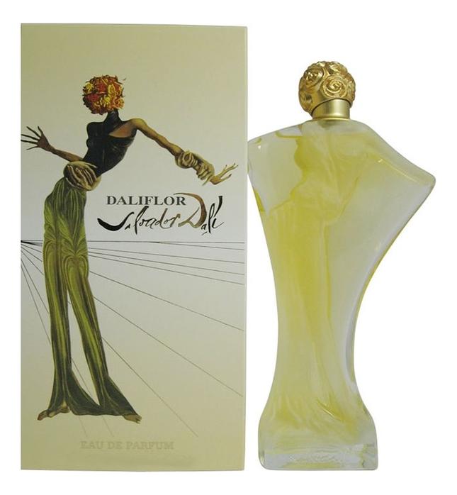 Salvador Dali Daliflor: парфюмерная вода 100мл