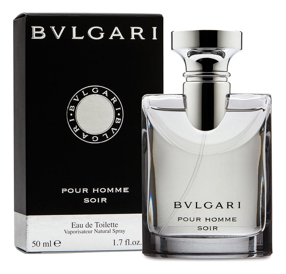 Купить Pour Homme Soir: туалетная вода 50мл, Bvlgari