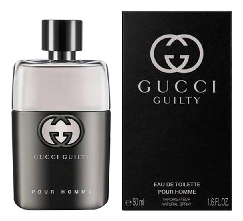 Guilty Pour Homme: туалетная вода 50мл guilty intense pour homme туалетная вода 90мл
