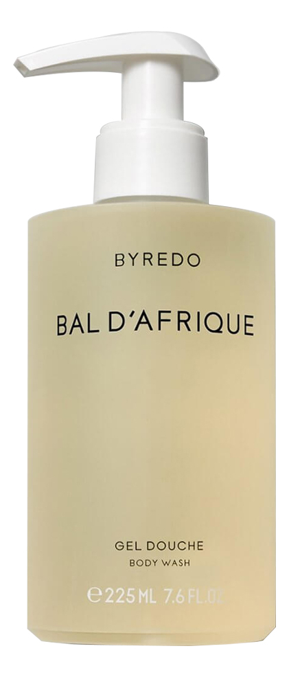 Byredo Bal d'Afrique: гель для душа 225мл byredo blanche гель для душа 225 мл
