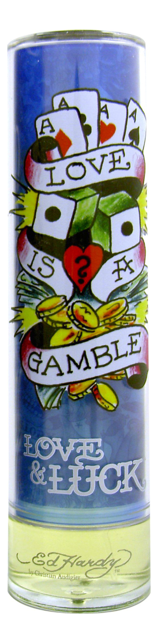 Christian Audigier Ed Hardy Love & Luck for men: туалетная вода 100мл тестер