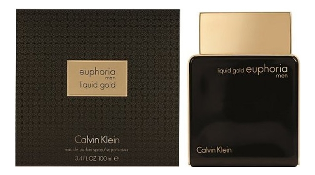 Calvin Klein Liquid Gold Euphoria Men: парфюмерная вода 100мл