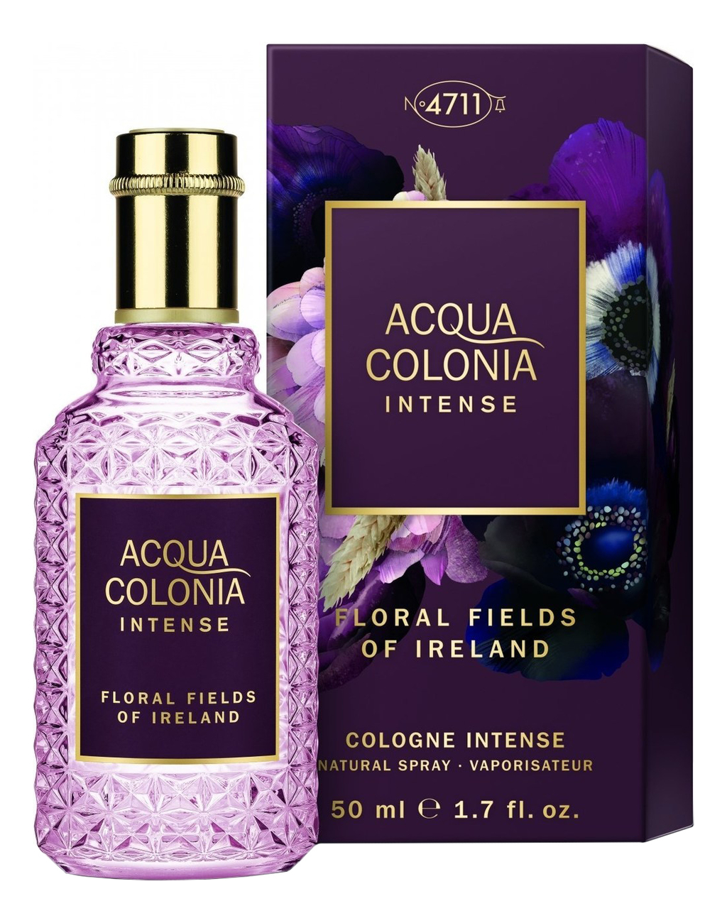 Купить Maurer & Wirtz Acqua Colonia Intense Floral Fields Of Ireland: одеколон 50мл, Maurer & Wirtz Acqua Colonia Intense Floral Fields Of Ireland