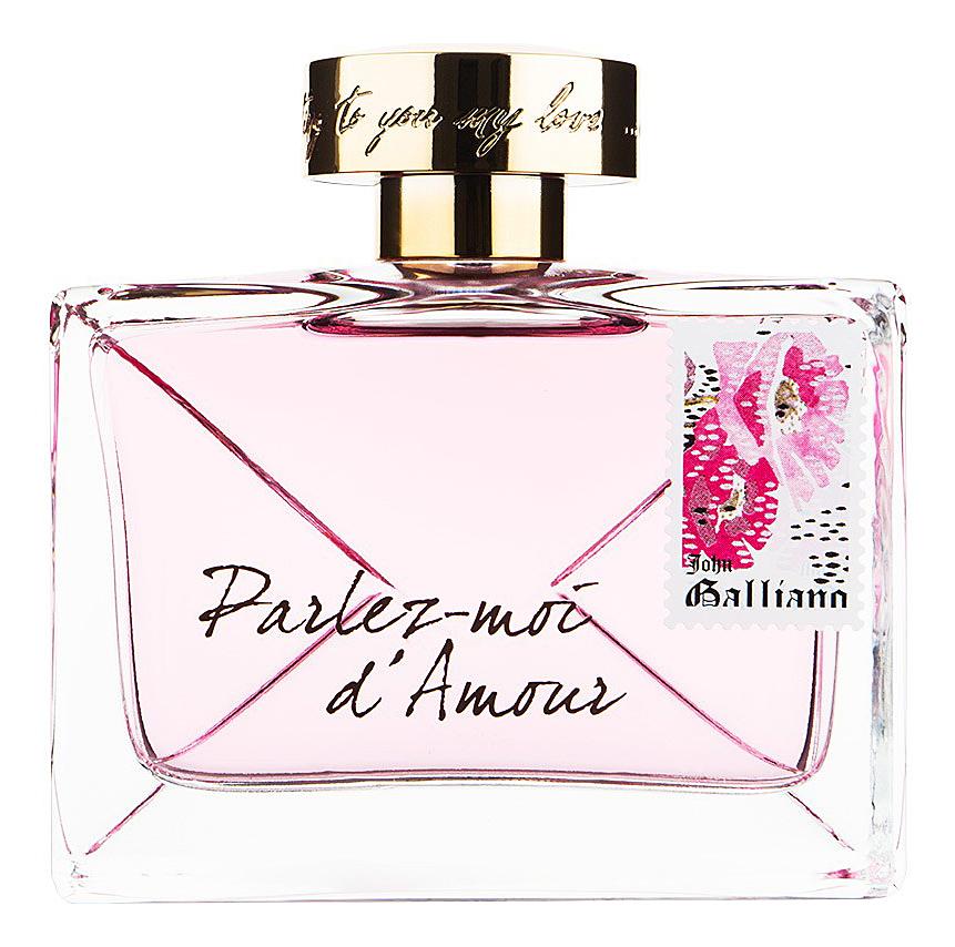 цена John Galliano Parlez-moi d'Amour: парфюмерная вода 80мл тестер онлайн в 2017 году