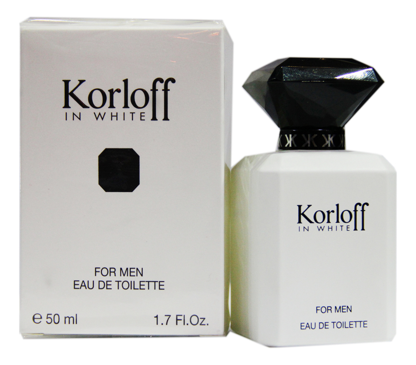 цена на Korloff Paris Korloff In White: туалетная вода 50мл
