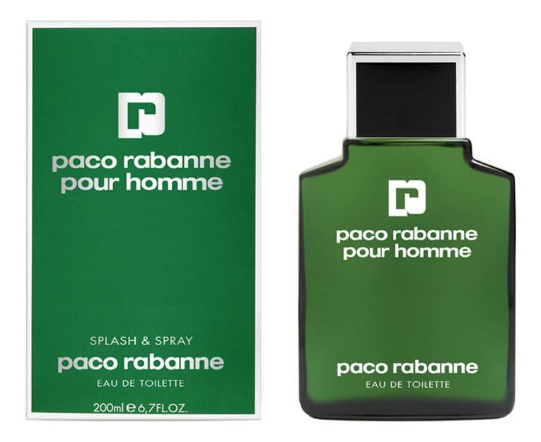 Купить Paco Rabanne Pour Homme: туалетная вода 200мл