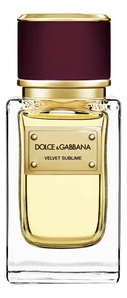 Dolce Gabbana (D&G) Velvet Sublime: парфюмерная вода 50мл тестер dolce gabbana velvet mimosa bloom туалетные духи 150 мл