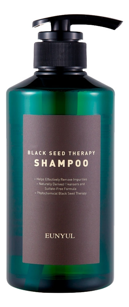 Шампунь для волос с маслом черного тмина Black Seed Therapy Shampoo 500мл chi luxury black seed oil curl defining cream gel