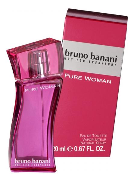 Bruno Banani Pure woman: туалетная вода 20мл недорого