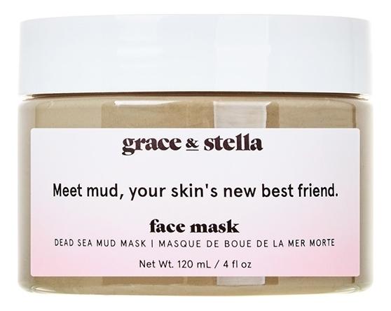 Купить Очищающая маска для лица с грязью Мертвого моря Dead Sea Mud Mask 120мл, Grace and Stella