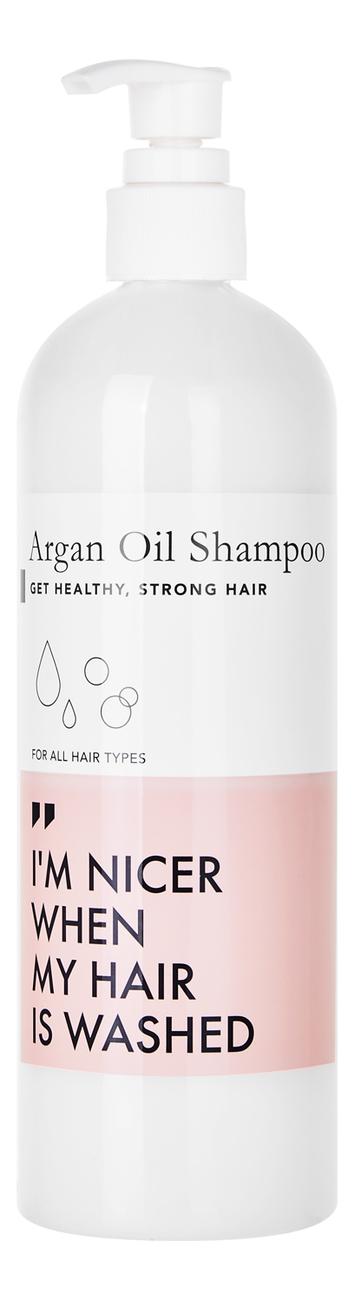 Питательный шампунь для волос с маслом арганы Organic Argan Oil Shampoo 473мл