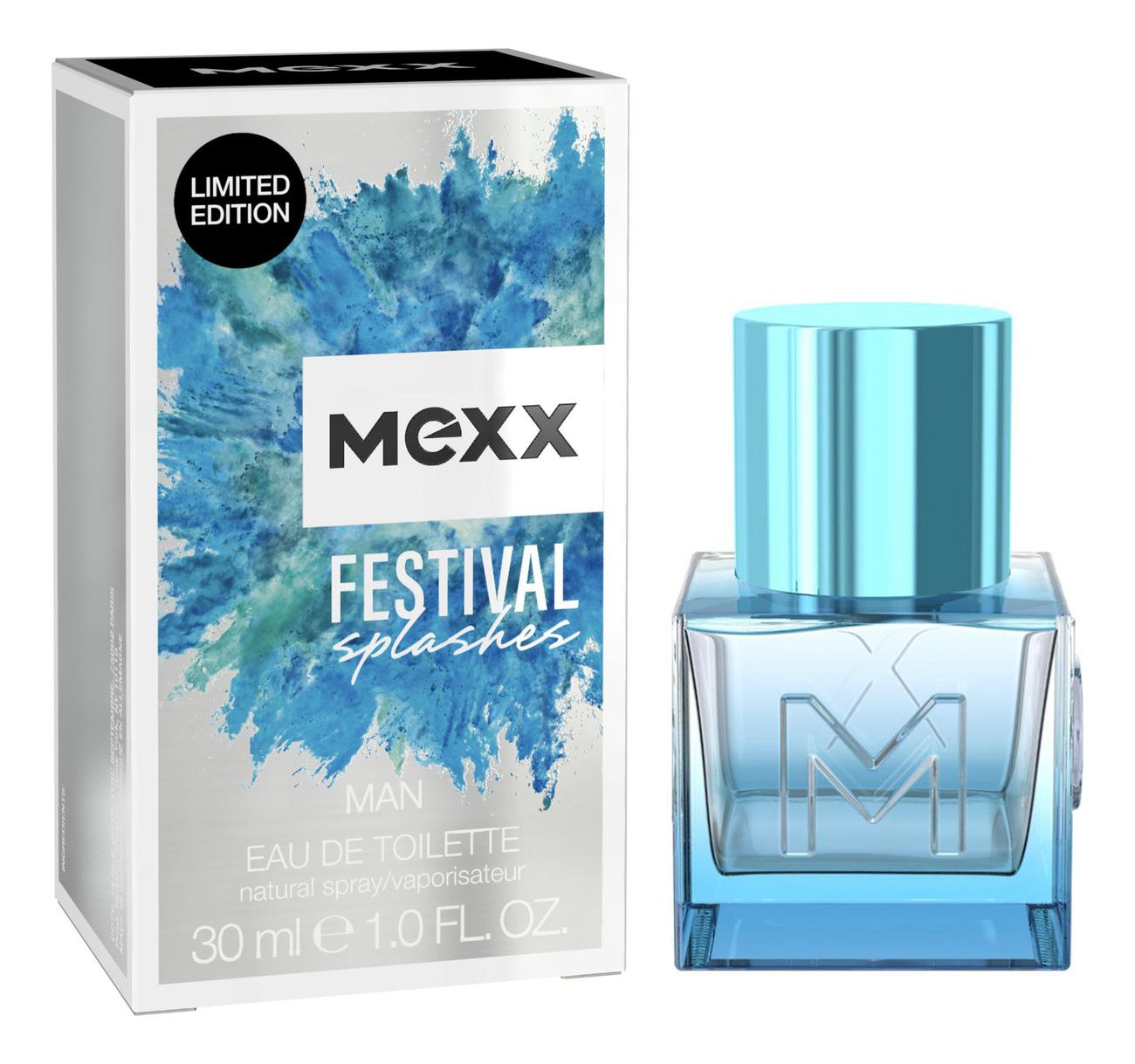 Mexx Man Festival Splashes: туалетная вода 30мл