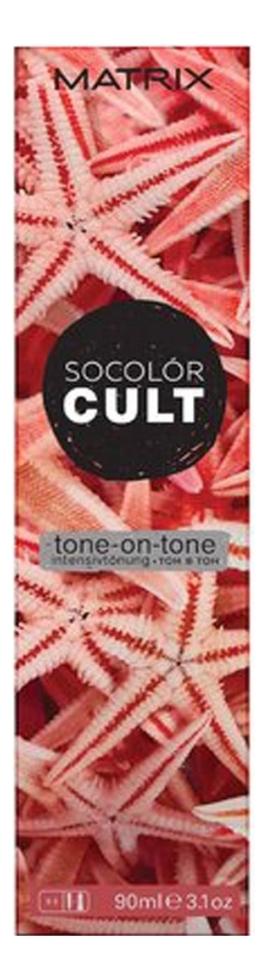 Стойкая крем-краска для волос SoColor Cult Permanent 90мл: Starfish Coral