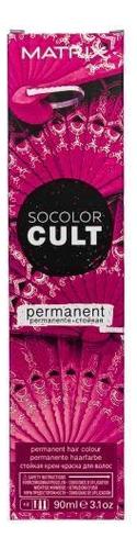 Стойкая крем-краска для волос SoColor Cult Permanent 90мл: Flamenco Fuchsia краска для волос matrix 10sp