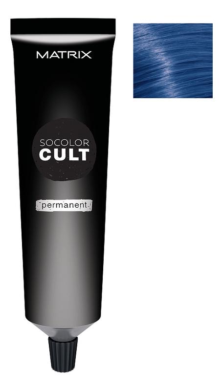 Стойкая крем-краска для волос SoColor Cult Permanent 90мл: Admiral Navy краска для волос matrix 10sp