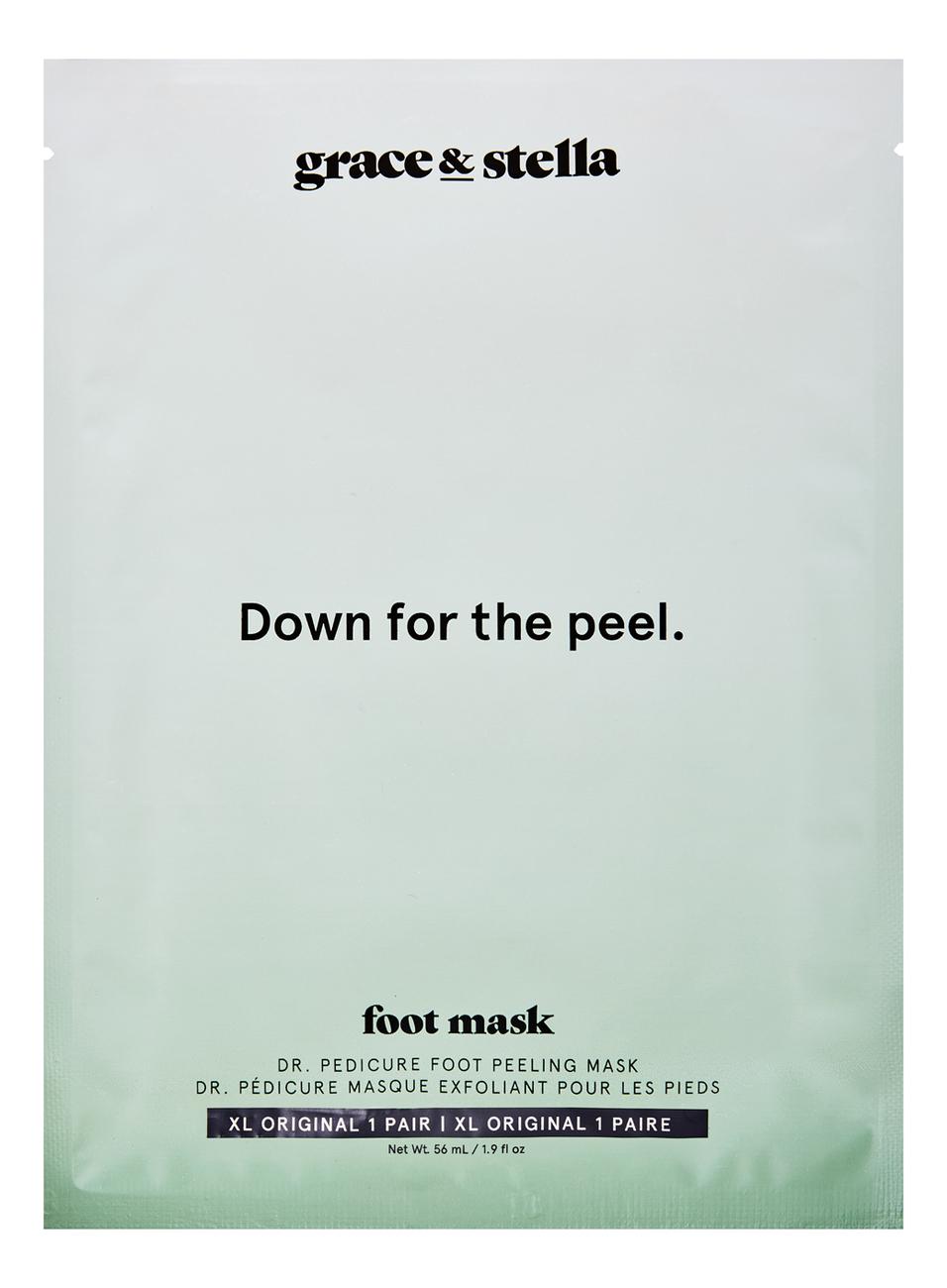 Носочки для педикюра оригинальные Dr. Pedicure Original Foot Exfoliating Mask XL