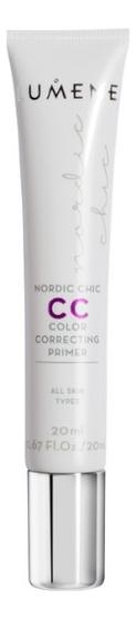 цена на База под макияж со светоотражающими частицами Nordic Chic CC Color Correcting Primer 20мл