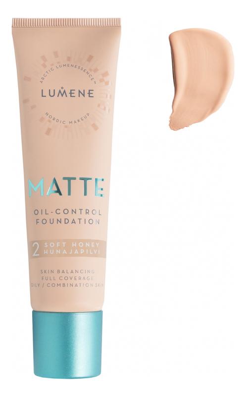 Матирующий тональный крем Nordic Chic Matte Oil-Control Foundation 30мл: 2 Soft Honey
