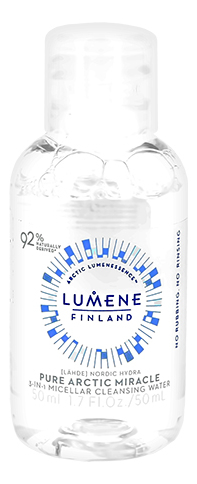 Мицеллярная вода 3 в 1 Nordic Hydra Pure Arctic Miracle: Мицеллярная вода 50мл фото