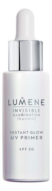 Ухаживающая база под макияж придающая сияние Invisible Illumination Instant Glow UV Primer SPF30 30мл lumene invisible illumination set