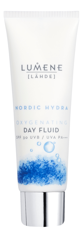 Дневной кислородный флюид Nordic Hydra Oxygenating Day Fluid SPF30 50мл дневной кислородный флюид spf30 lumene nordic hydra 50 мл