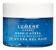 Lumene Кислородная восстанавливающая маска для лица Nordic Hydra Hydration Recovery Aerating Gel Mask 150мл
