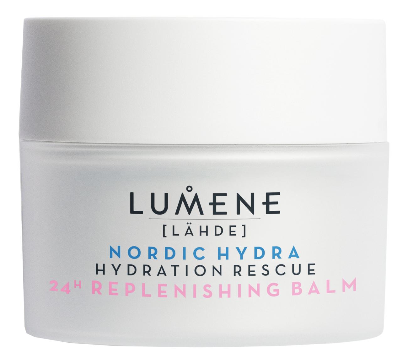 Увлажняющий питательный бальзам 24 часа Nordic Hydra Hydration Rescue 24H Replenishing Balm 50мл недорого