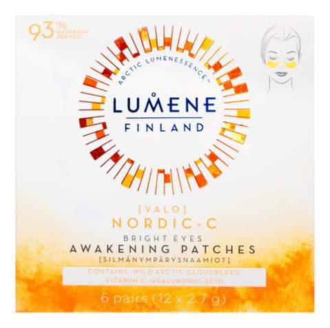 Гидрогелевые патчи для кожи вокруг глаз с витамином C Nordic-C Bright Eyes Awakening Patches 12*2,7г