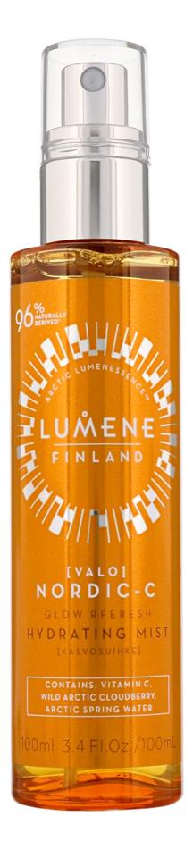 Освежающая дымка для лица с витамином C Nordic-C Glow Refresh Hydrating Mist: Дымка 100мл lumene набор ритуал для утренней свежести refresh для мужчин lumene raikas