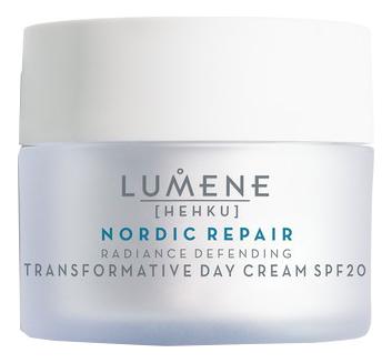 Восстанавливающий дневной крем-уход Nordic Repair Radiance Defending Transformative Day Cream SPF20 50мл крем lumene kirkas radiance boosting cleansing cream 150 мл