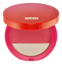 PUPA Milano Румяна и хайлайтер Sunset Blooming Highlighter & Blush 9г