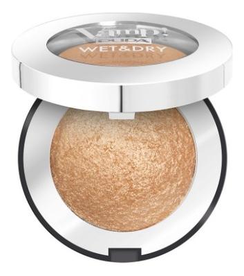 Запеченные тени для век Vamp! Wet & Dry Eyeshadow 1г: 101 Precious Gold