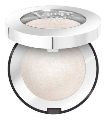 Запеченные тени для век Vamp! Wet & Dry Eyeshadow 1г: 300 White Snow pupa retro illusion eyeshadow