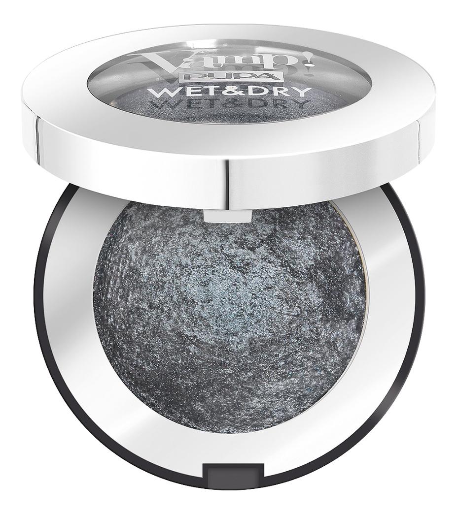 Запеченные тени для век Vamp! Wet & Dry Eyeshadow 1г: 305 Anthracite Grey