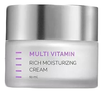 Увлажняющий крем для профилактики преждевременного старения Multi Vitamin Rich Moisturizing Cream 50мл holy land крем vitalise moisturizing cream увлажняющий 50 мл