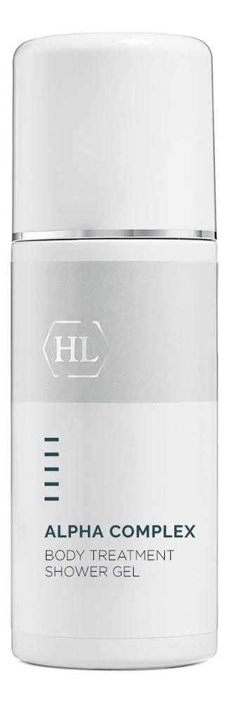 Гель для душа с фруктовыми экстрактами Alpha Complex Body Treatment Shower Gel 250мл holy land эксфолиатор быстродействующий alpha complex