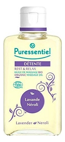 Органическое массажное масло Отдохнуть и расслабиться Detente Huile De Massage Bio Lavande Neroli 100мл puressentiel органическое массажное масло отдохнуть и расслабиться 100 мл puressentiel хорошее самочувствие