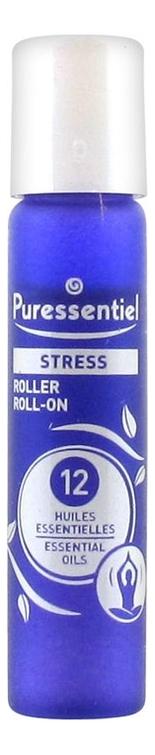 Роллер Антистресс 12 эфирных масел Stress Roller 5мл пюресансьель роллер антистресс 12 эфирных масел 5мл