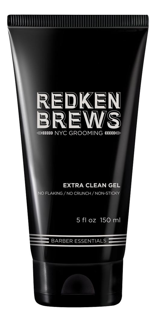 Фото - Гель для укладки волос Brews Extra Clean Gel 150мл гель цемент для укладки волос artisan geghe gel fluid gel cement hold 150мл