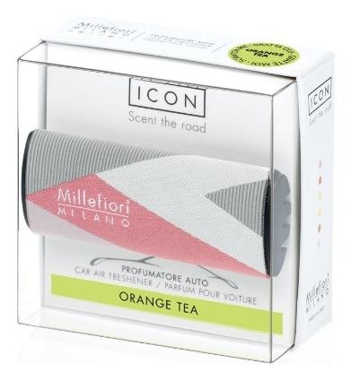 Ароматизатор для автомобиля Текстильная геометрия Icon Orange Tea (апельсиновый чай)