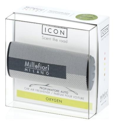 Купить Ароматизатор для автомобиля Текстильная геометрия Icon Oxygen (воздух), Millefiori Milano