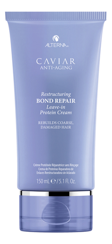 Несмываемый протеиновый крем для восстановления поврежденных связей в волосах Caviar Anti-Aging Restructuring Bond Repair 150мл
