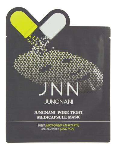 Тканевая маска сужающая поры Jungnani JNN Pore Tight Medicapsule Mask 23мл недорого