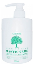 Gain Cosmetics Восстанавливающий шампунь с зеленым чаем Labellona Mastic Care Green Tea Shampoo 500мл