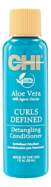 Кондиционер для облегчения расчесывания Aloe Vera With Agave Nectar Curls Defined Detangling Conditioner: Кондиционер 30мл korres conditioner aloe